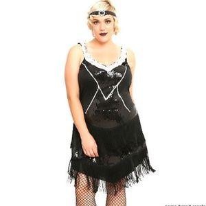 Leg Avenue NEW Plus 1X 2X Flapper 1920's Costume